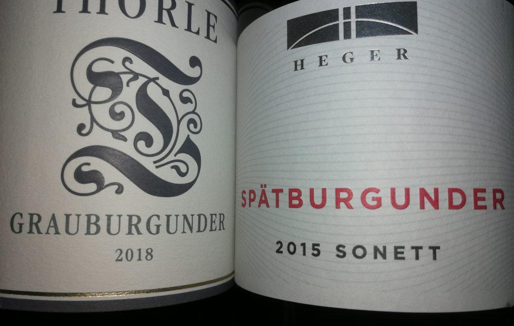 Weinprobe Pinot 15. Oktober