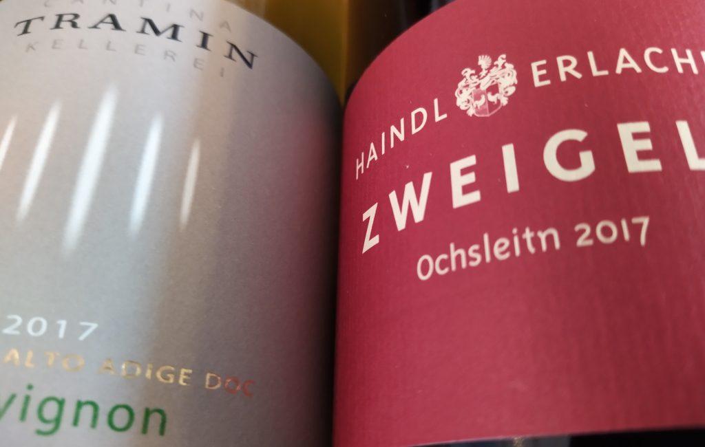 Weinprobe Österreich / Südtirol & Spezialitäten – 29. Mai 2020 Beginn: 19 Uhr